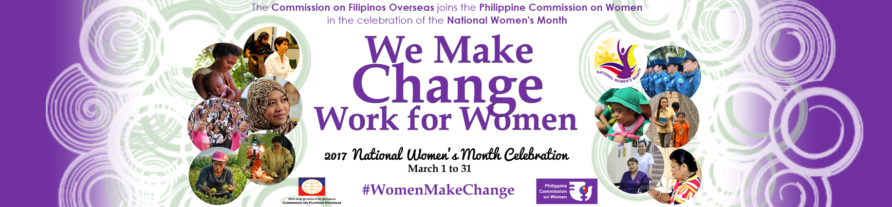 National Women's Month Celebration 2017